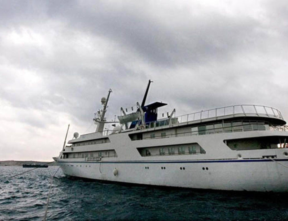 Saddam Hussein's Yacht Is Sailing Again With a New Mission