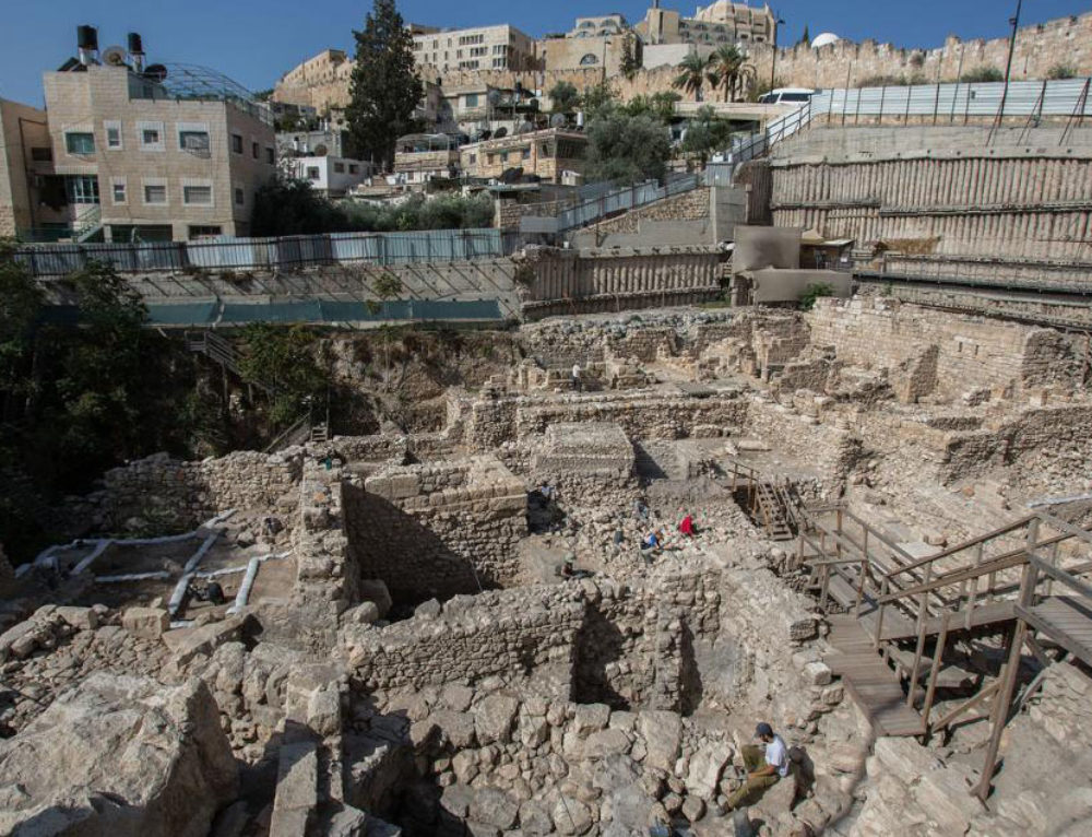 Jerusalem Dig Uncovers Ancient Greek Citadel